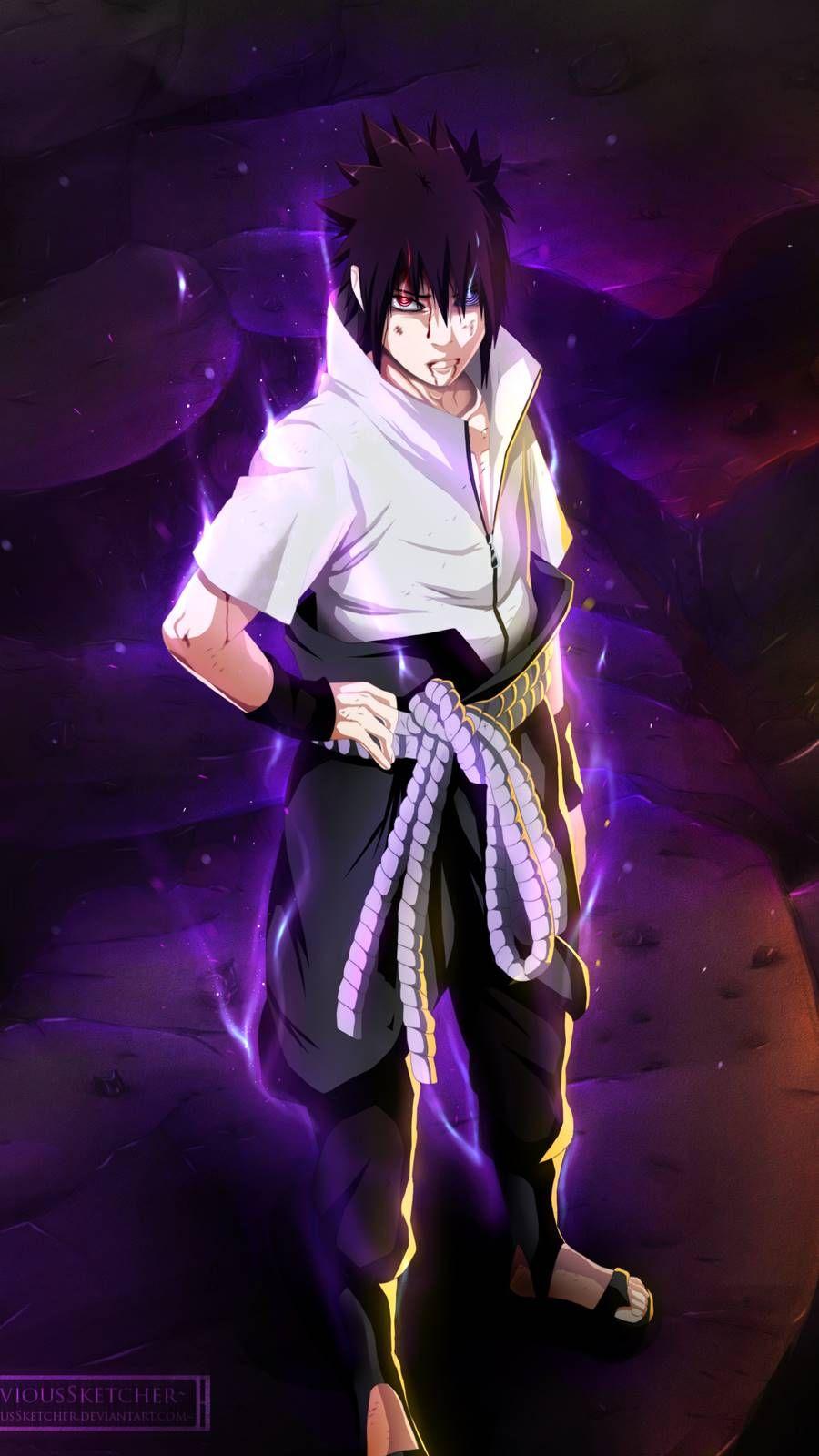 Sasuke Uchiha Para Celular With Images Naruto And Sasuke