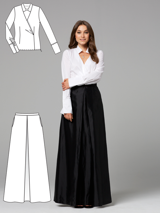 Opposites Attract: 12 New Women's Sewing Patterns | Sewing ...