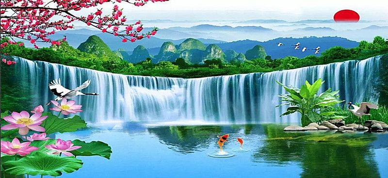 Landscape Paintings Beautiful Nature Wallpaper Hd Landscape Background Landscape Paintings