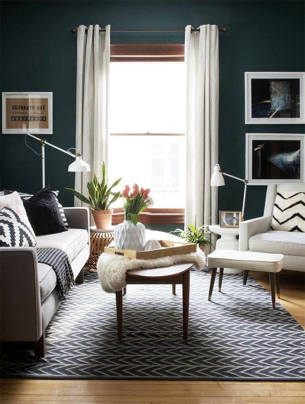Exceptionnelle Vert Salon Dessins Idées  Deco appartement, Idee