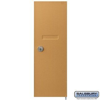 Replacement Door And Lock For Vertical Mailbox With 2 Keys Brass By Salsbury Industries 25 00 Always Home Safety Home Security Tall Cabinet Storage