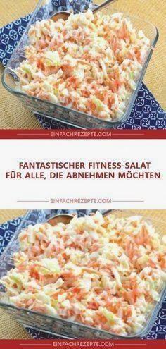 Fantastischer Fitness Salat für alle, die abnehmen möchten 😍 😍 😍 #abendessen #abnehmen #fitness #fit...