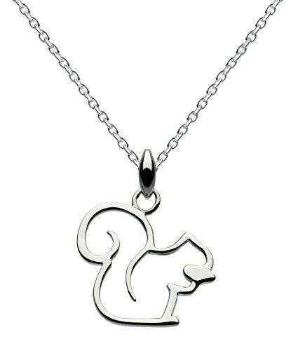Dew 18 inch Cat Necklace on 45.7 cm Sterling Silver Chain