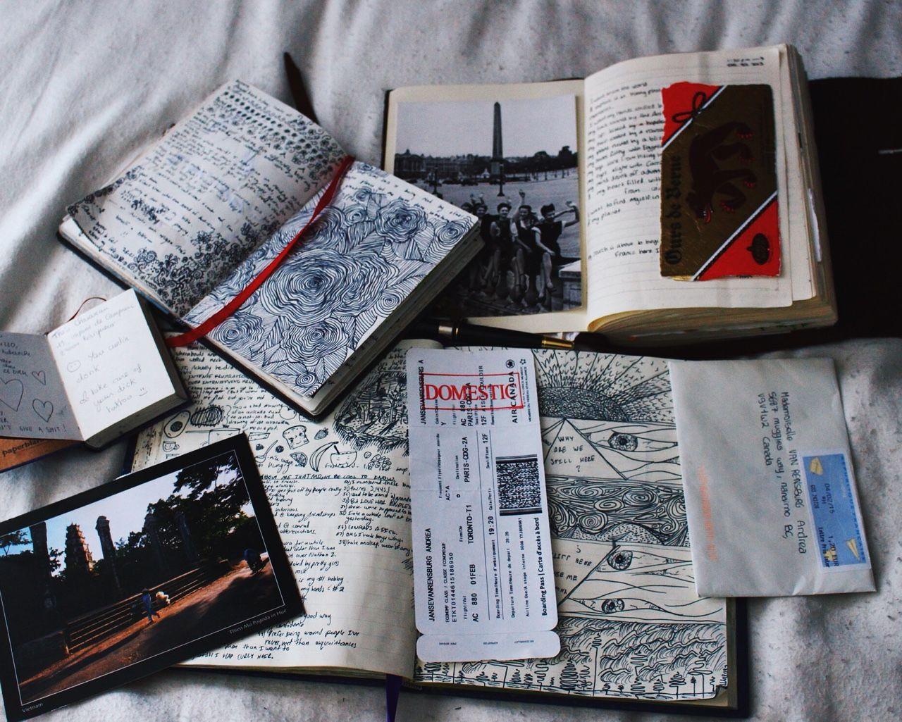 constancia: pasé la mañana leyendo mis propios diarios y recordando cosas …