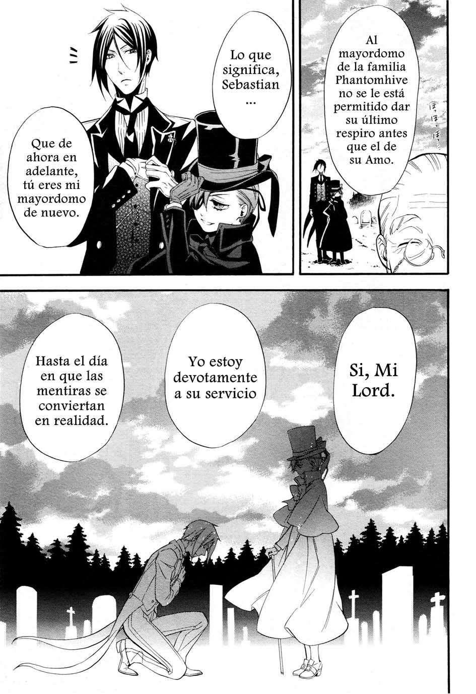 Kuroshitsuji - MANGA - Lector - TuMangaOnline