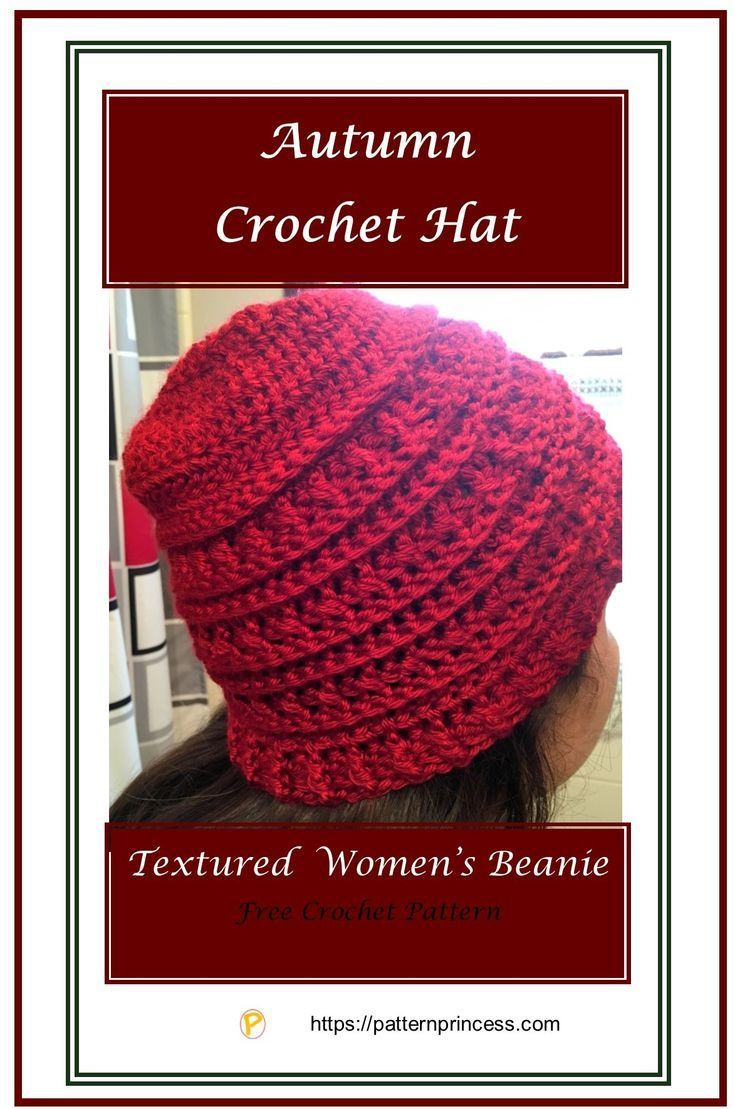Autumn Crochet Hat Crochet Patterns Tutorials Pinterest Häkeln