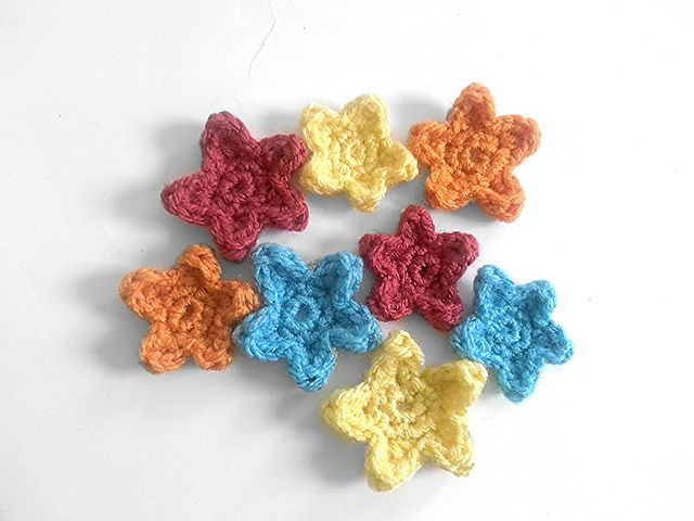 Crochet Star Appliques By Whispered Whimsy Projects To Try