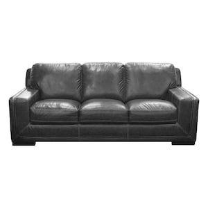 Marvelous Mannix Leather Sofa In Amarillo Ghost Nebraska Furniture Home Interior And Landscaping Oversignezvosmurscom