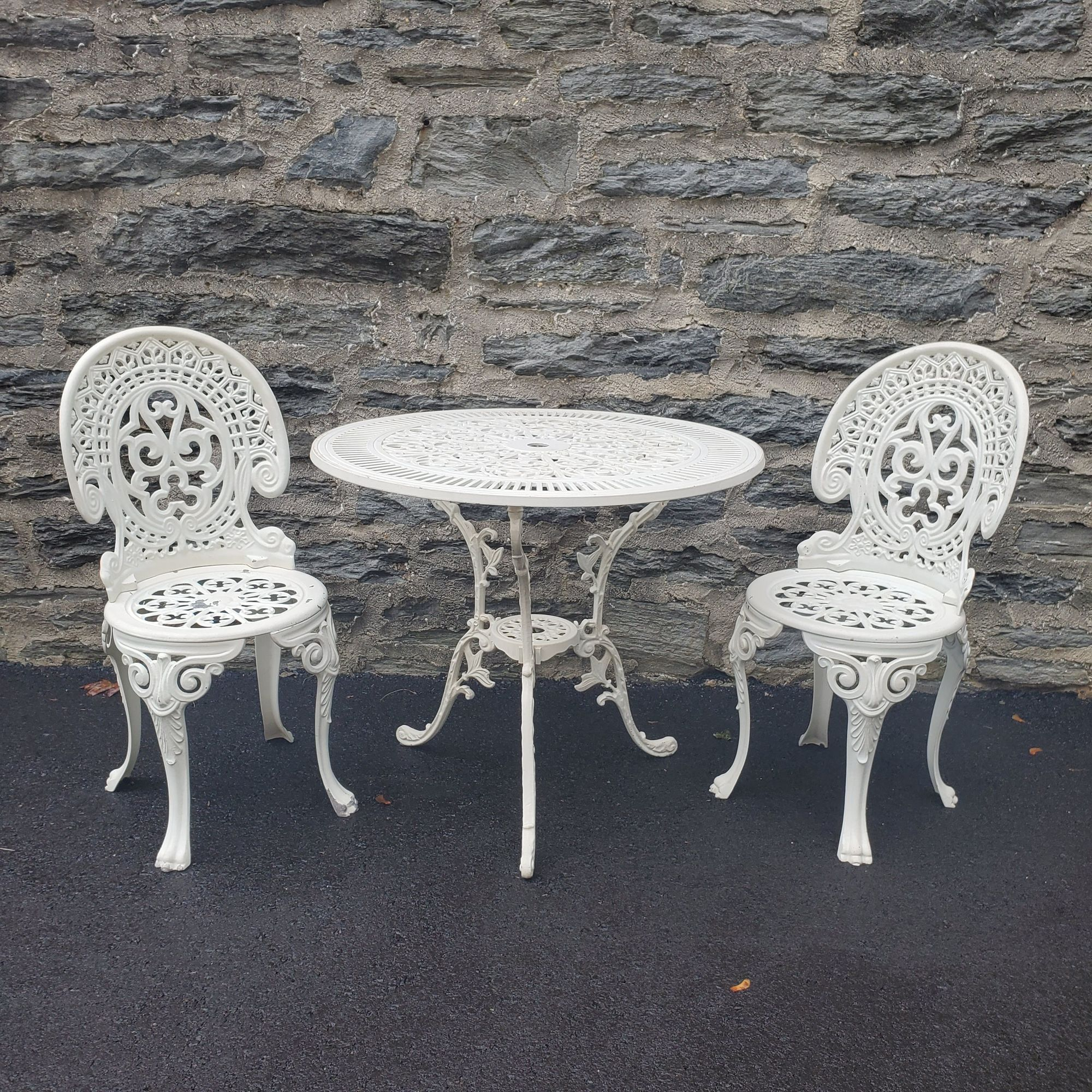 This Very Cool Cast Aluminium Patio Set Is Part Of Our Haverford