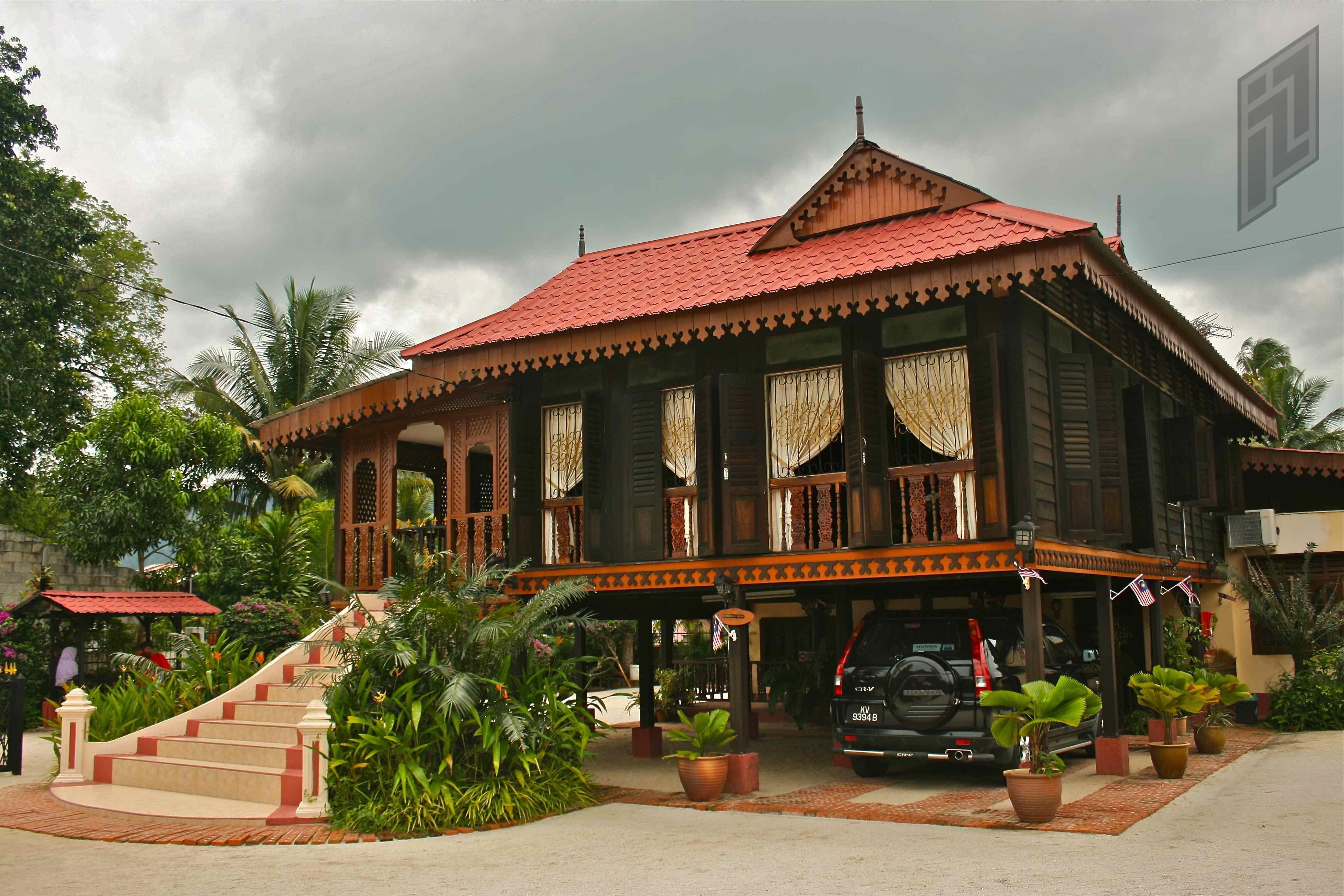 Malay Traditional House Langkawi Malaysia Photography House