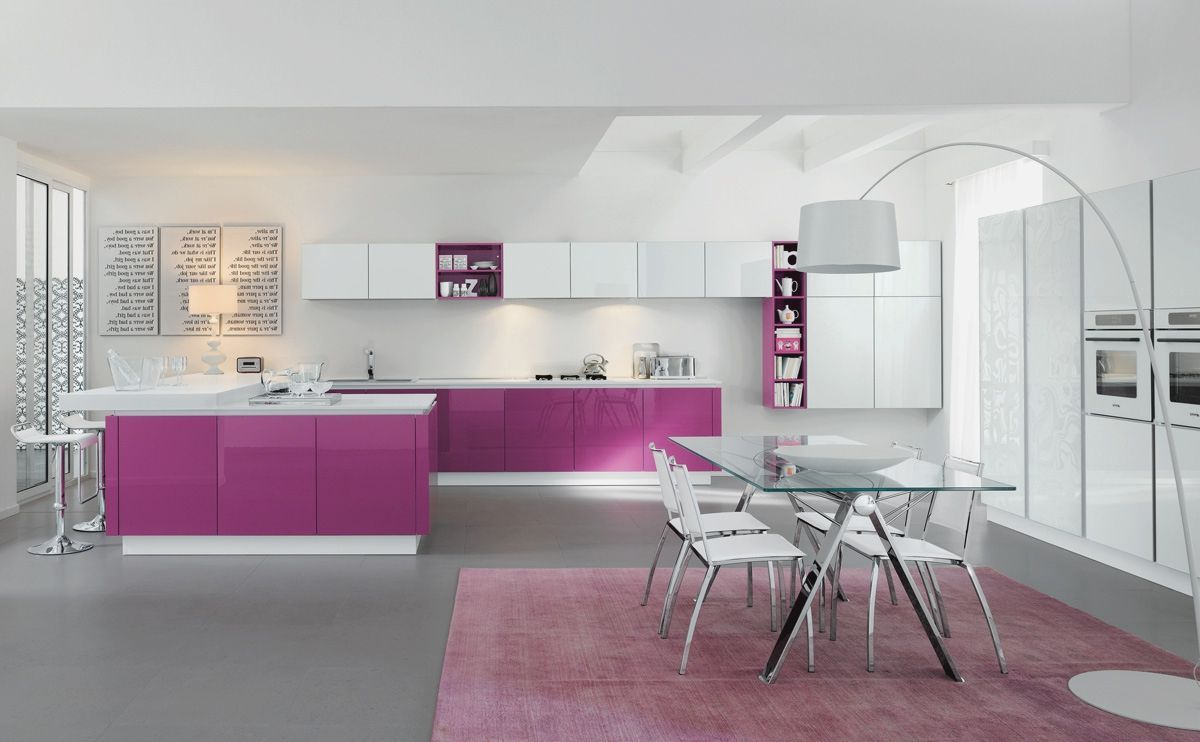 Kitchen Ideas Purple modern kitchen designs in nigeria more picture modern kitchen