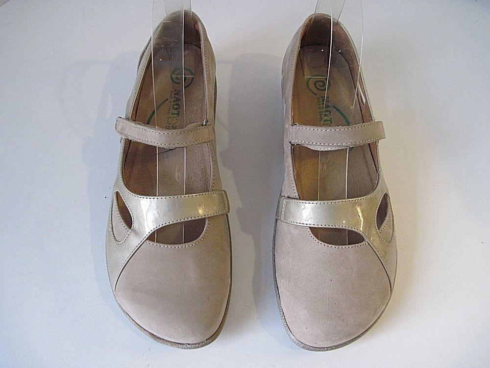 Naot Damens's Taranga Mary Jane Taupe Leder   Patent Leder Leder Patent Größe ... 88e6f3