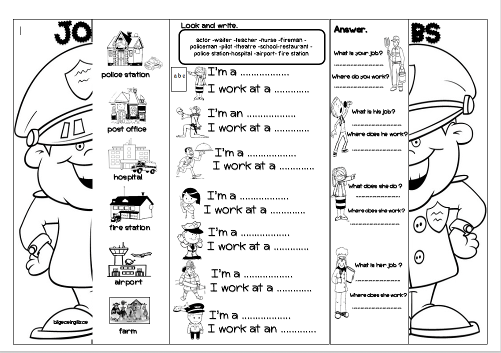 4 th grade ESL worksheets Bilgeceingilizce Esl