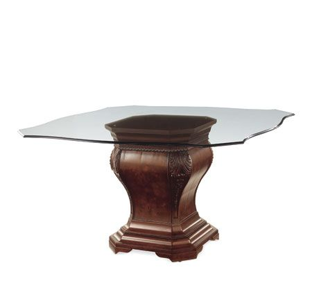 Bombay Co Hamilton Dining Table Base With 54 Serpentine Glass