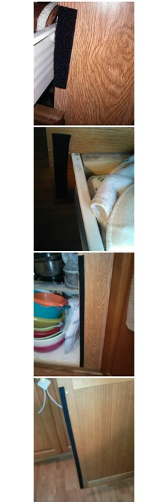 Diy Baby Proofing Cabinets Our Cabinets Wouldn T Work With