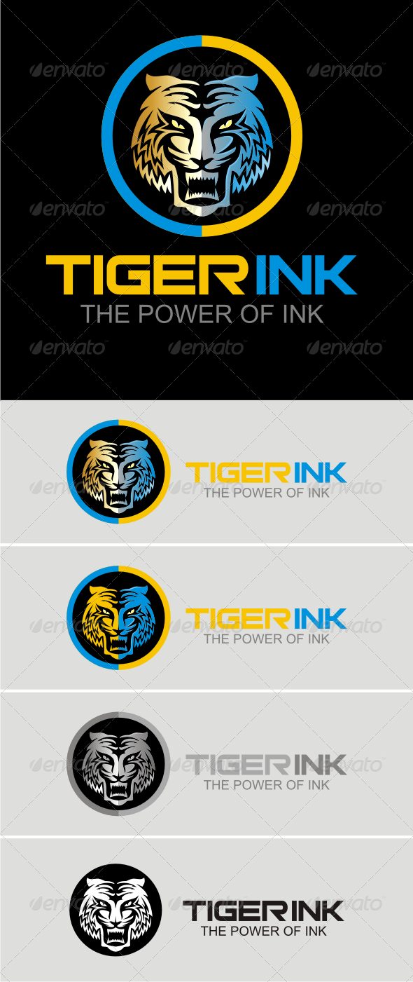 Taiger Ink  #GraphicRiver