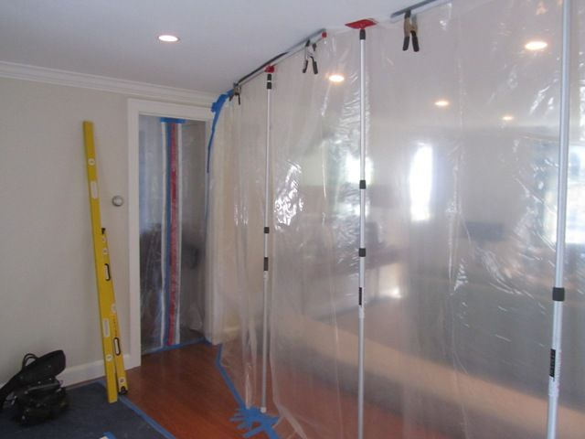 Dust Containment Wall Renovation Ideas Building