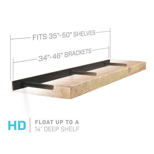 Buy Floating Shelf Mounts For 36 48 Inch Floating Shelves