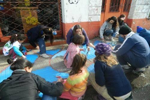 En http://copiplan.com.uy/ apoyamos a #Pintando veredas.