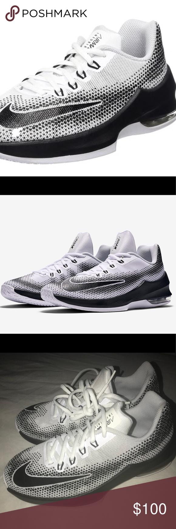 Nike Boy's Air Max Infuriate (GS) Basketball Shoes Mesh