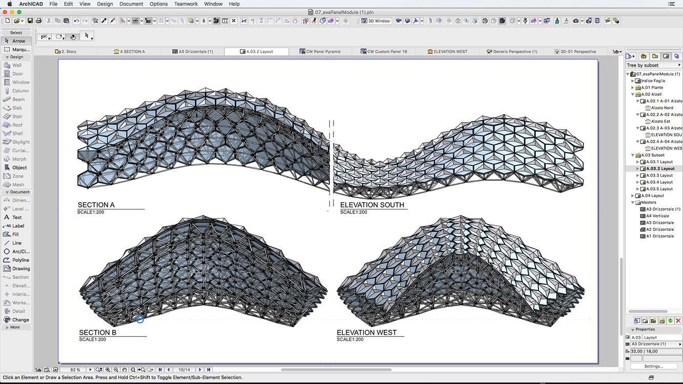 07 Grasshopper Archicad shape | Architecture stuff | Algorithm