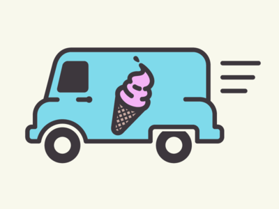 ice cream truck pinterest icons motion graphics and ui design rh pinterest com ice cream truck clip art free ice cream truck pictures clip art