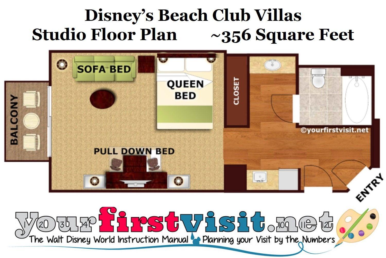 Studios At Disney S Beach Club Villas Yourfirstvisit Net Beach Club Villas Disney Beach Club Beach Club Villas Disney