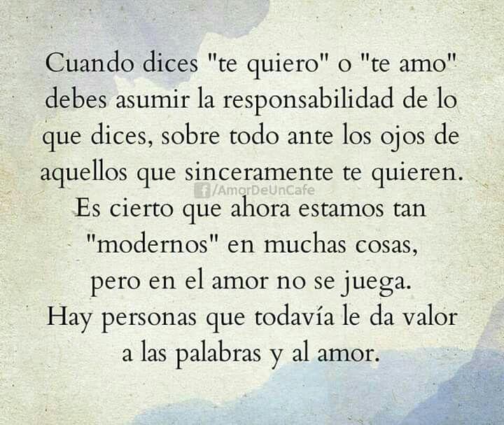El Amor No Es Un Juego Citas De Amor Frases De Amor Y