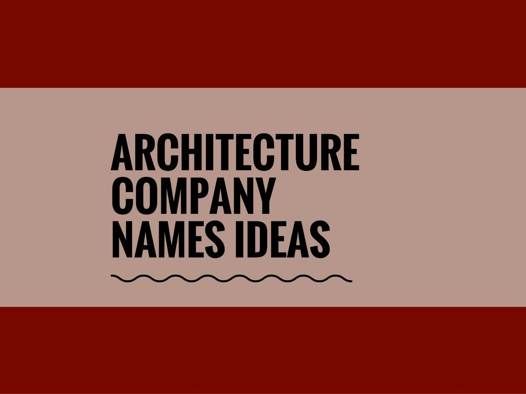 67 catchy architecture company names pinterest architecture