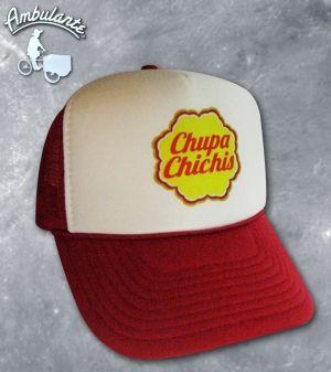 chupachichis Gorra Ambulante - CHUPA Exclusivas gorras con diseños  divertidos www.ambulantemx.com ead5a345499