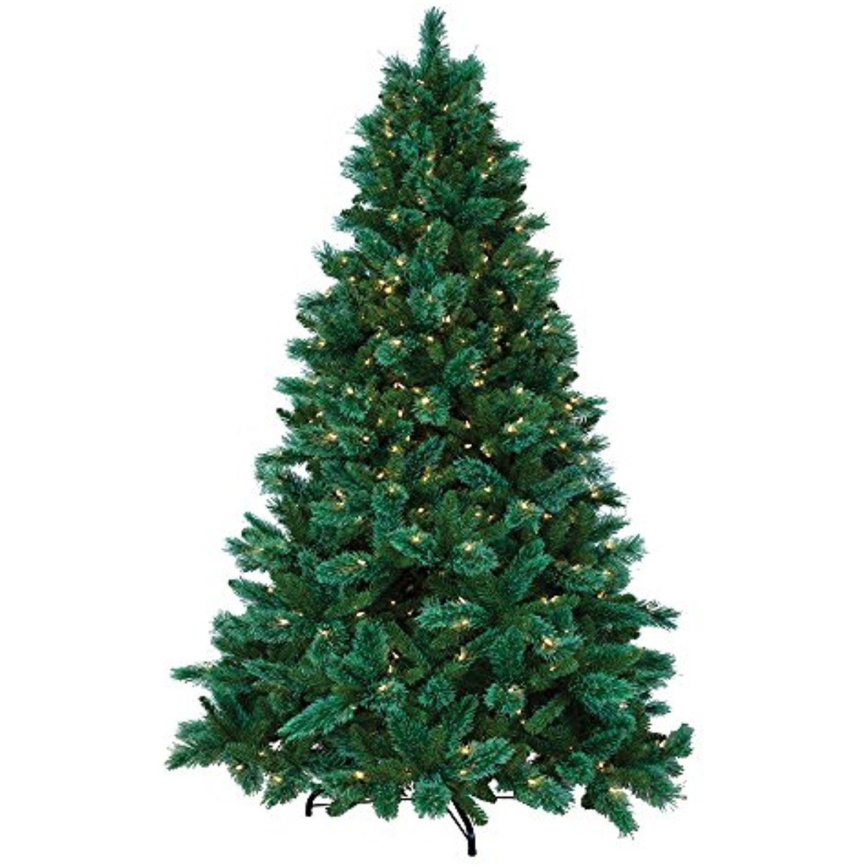 ULTIMA 7.5\' Artificial Christmas Tree, 640 Dual-Color LED Multi ...