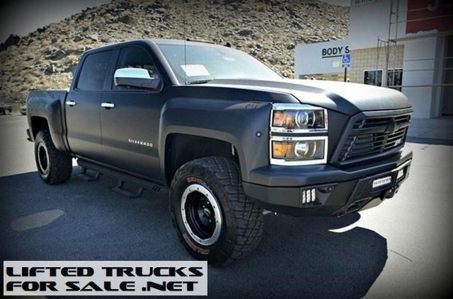 Reaper Truck For Sale >> 2014 Chevrolet Silverado 1500 Matte Black Southern Comfort Reaper