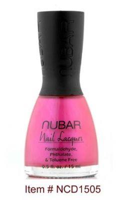 Nubar Nail Laquer in Hollywood Pink