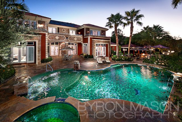 Mansion Backyard Pool I Could Live Here Mansions