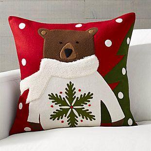 Holiday Moose Pillow 20