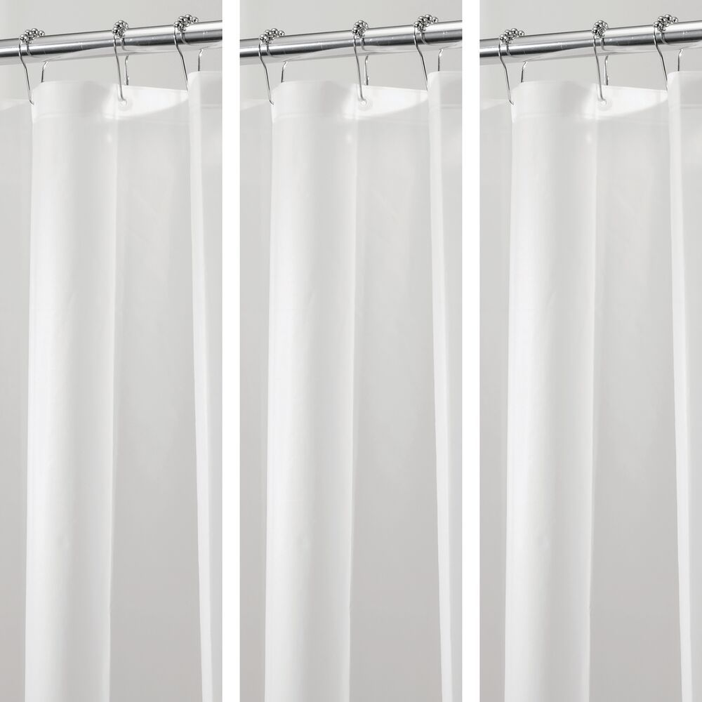 Peva Shower Curtain Liners For Bath 72 X 72 Fabric Shower