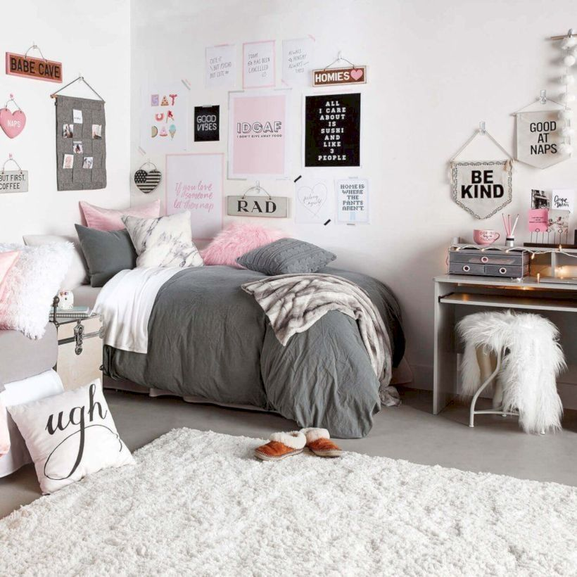 37 Stylish Design Pictures: 37 Cute Teen Bedroom Designs In Vintage Style