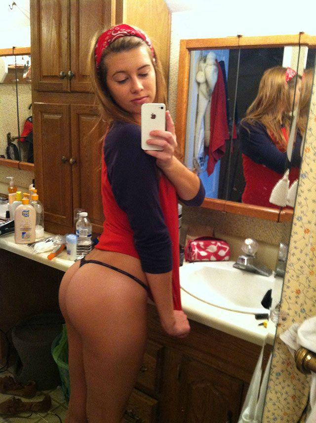 Naked big girl selfies