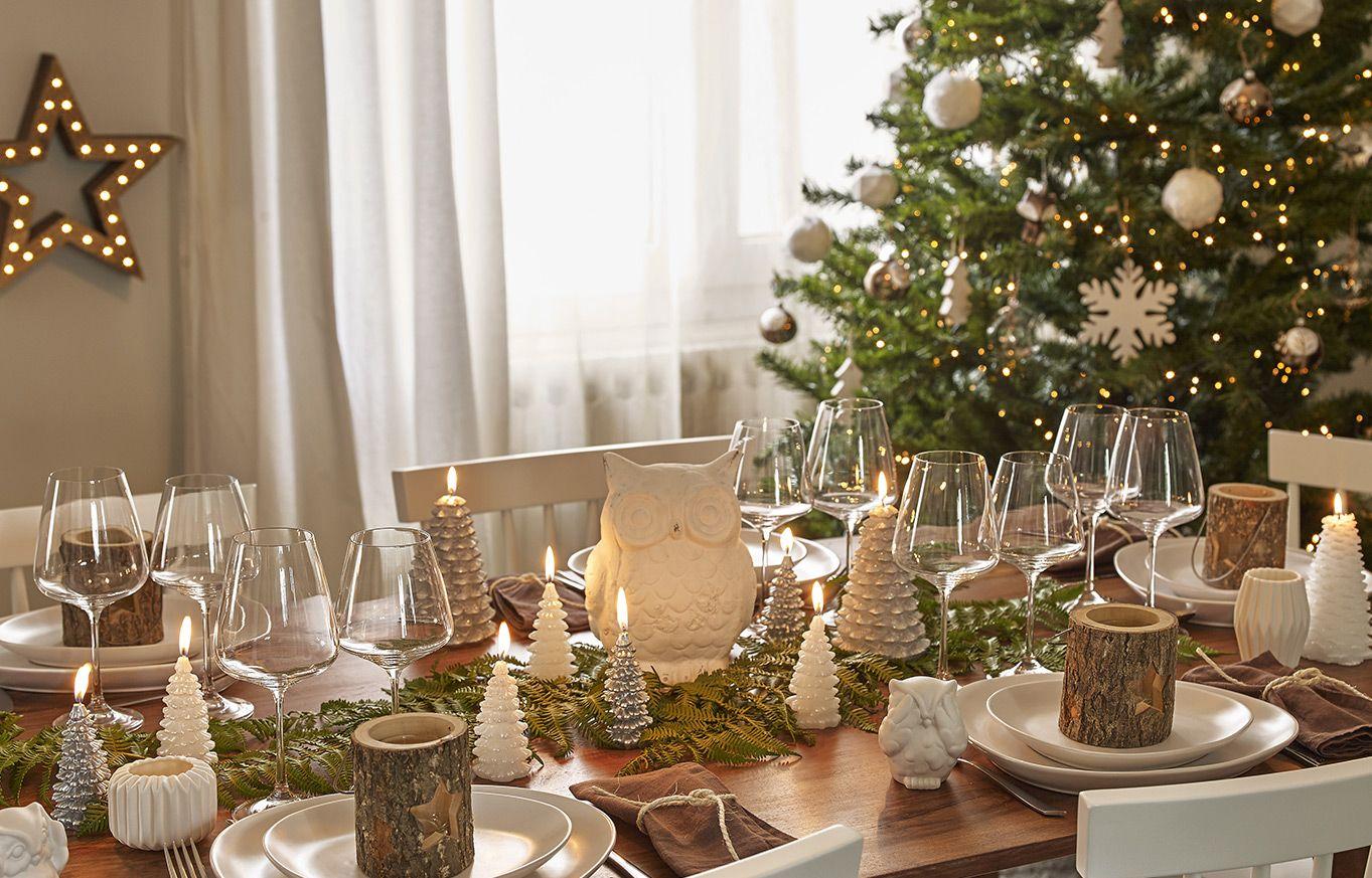Décorations de table et sapin de Noël, idées cadeaux   Maisons du ...