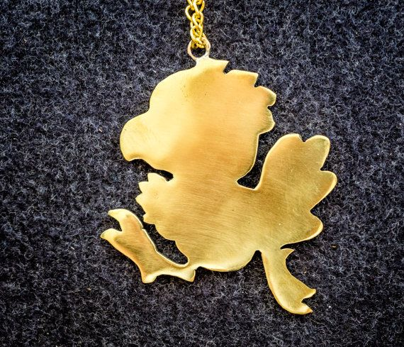 Delivery Moogle Birthday Card Final Fantasy Themed: Final Fantasy Chocobo Pendant Final Fantasy Jewelry By