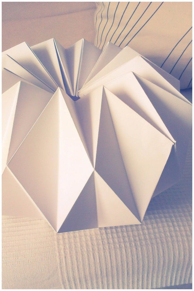 DIY – Origami paper lantern!