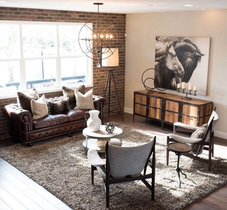 Industrial Style Interior Design Home Decor Ideas In 2020 Minimalist Living Room Decor Living Room Decor Rustic Industrial Decor