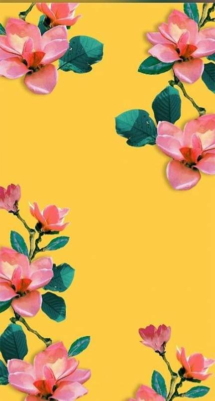 48 Ideas for flowers wallpaper for phone backgrounds iphone floral patterns