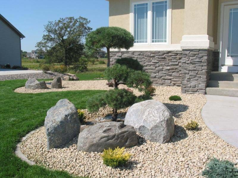 Use Landscaping Rocks To Make Your Garden Look Lively Modern Landscaping Rocks Landscaping Landscape Design Landscaping With Boulders Landscaping With Rocks