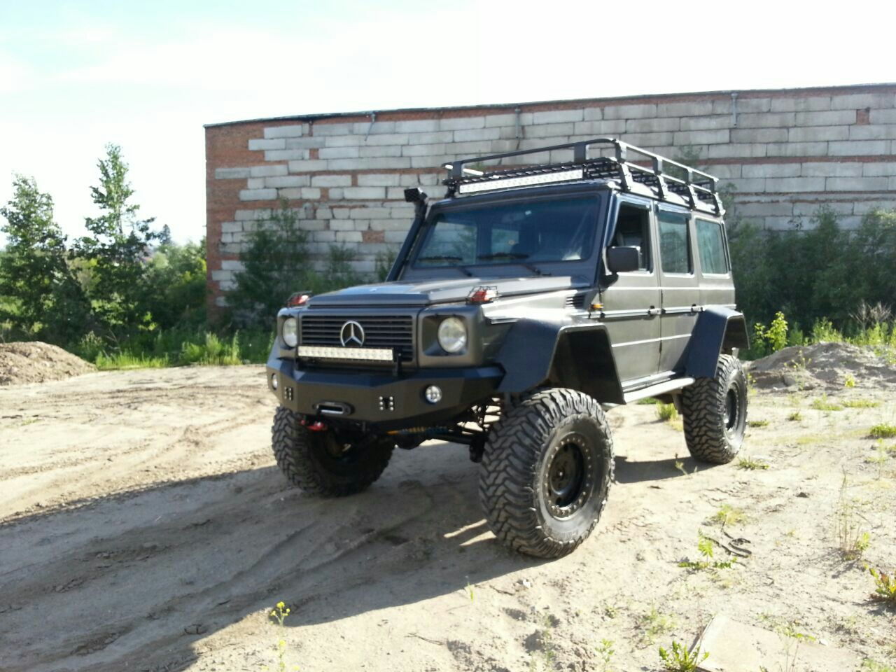 Image result for portal axles trucks guns 39 n dogs for Mercedes benz portal axles