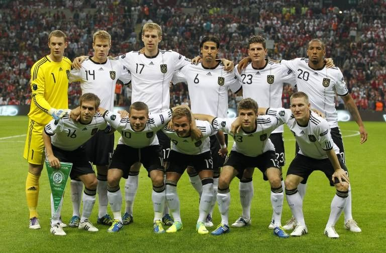 German National Soccer Team 2012 They Were A Great Squad And I Can T Deny It Good Soccer Players German National Team Soccer Team