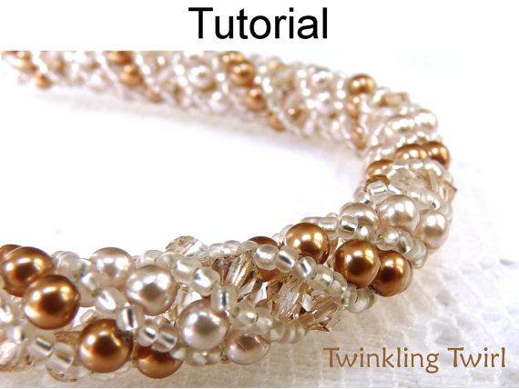 Bördeln Lernprogramm Armband Halskette von SimpleBeadPatterns ...