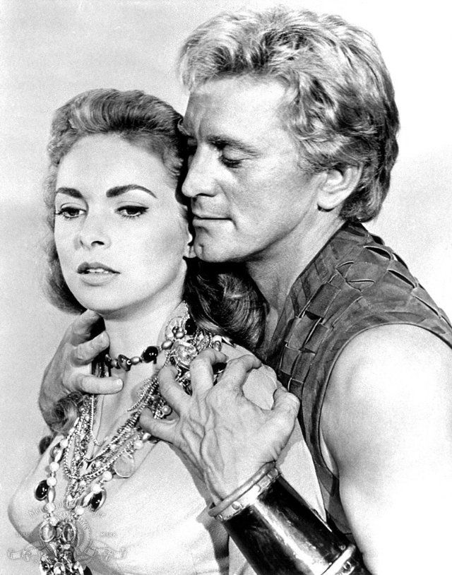 Still of Kirk Douglas and Janet Leigh in The Vikings