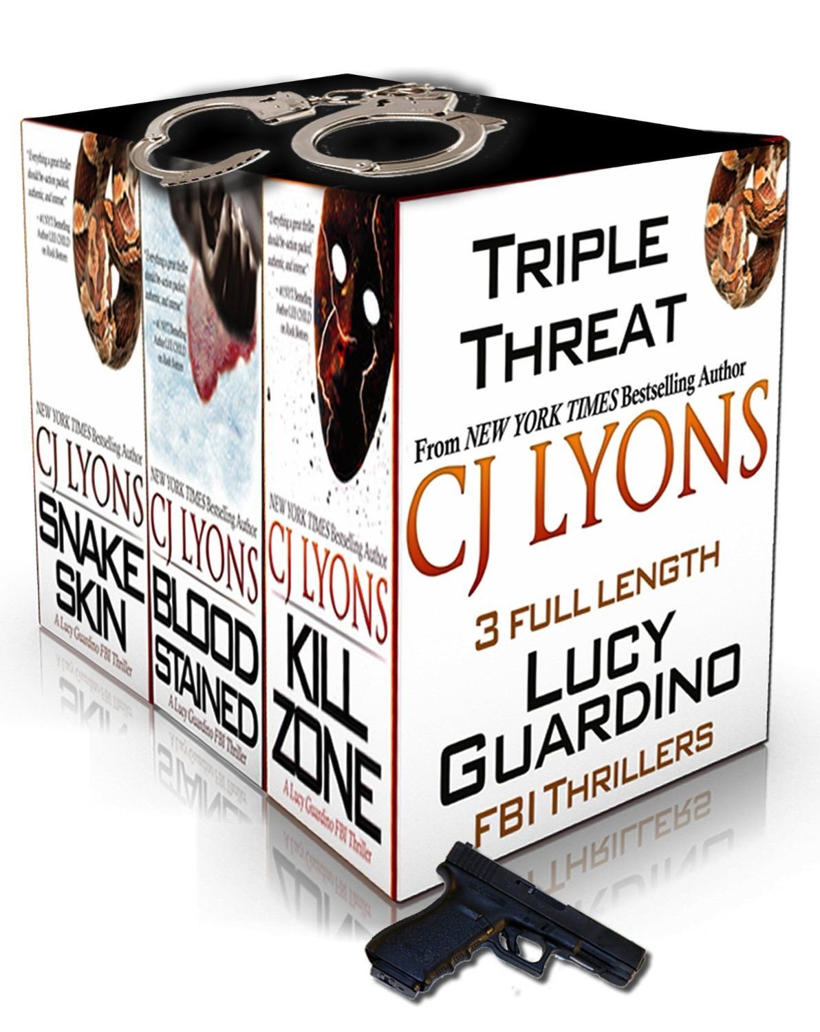 TRIPLE THREAT: A Lucy Guardino FBI Thriller Special Priced Box Set (3 Complete Lucy Guardino FBI Thrillers) - Kindle edition by CJ Lyons. My...