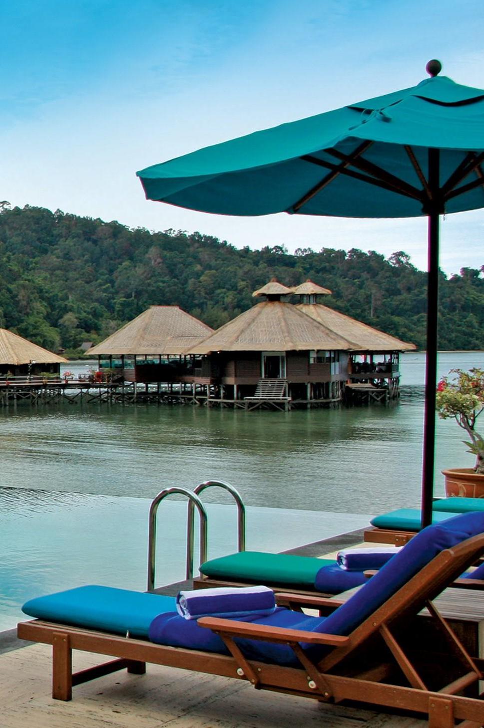Gayana Marine Resort (Malaysia) | Jetsetter | Water villa. Resort. Malaysia